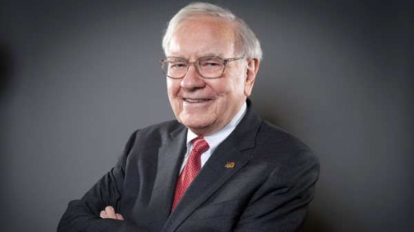 Portrait Warren Buffett