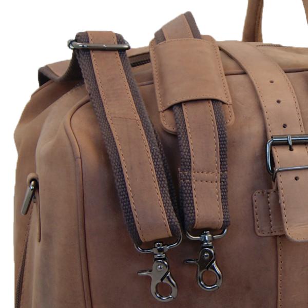Schulterpolster Reisetasche Karl der Grosse