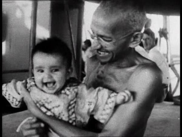 Portrait Mahatma Gandhi