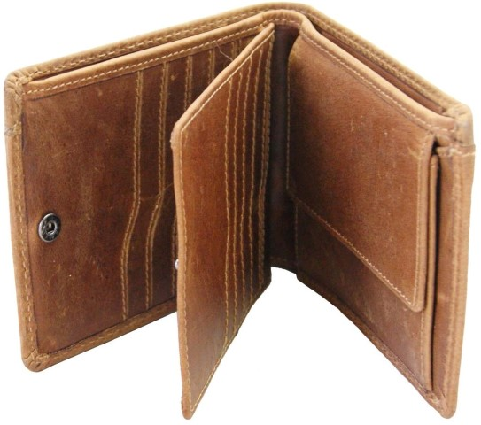 Herren Geldbörse Leder innen