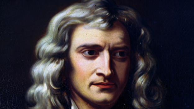 Portrait Isaac-Newton
