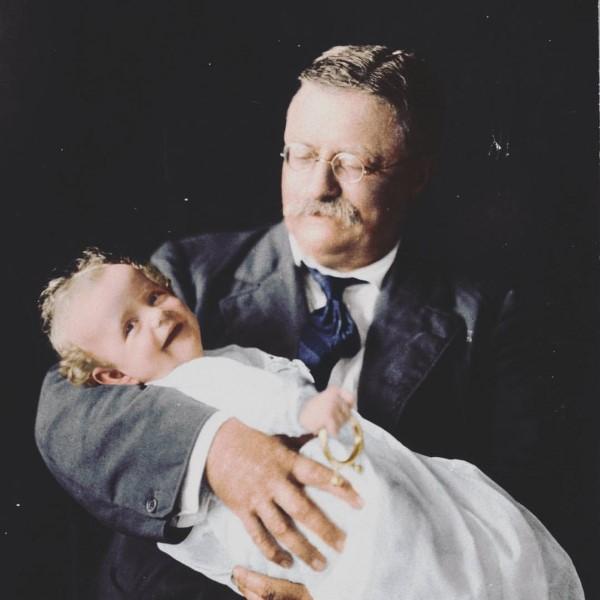 Portrait Theodore Roosevelt