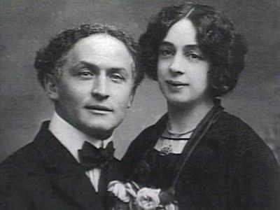 Portrait Harry und Bess Houdini