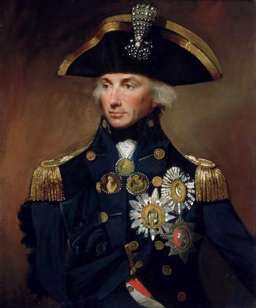 Portrait Horatio Nelson