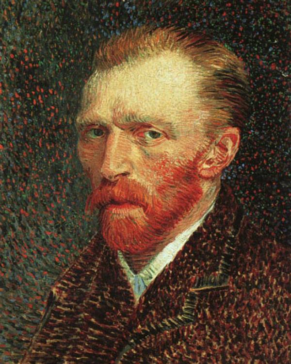 Portrait Vincenc van Gogh